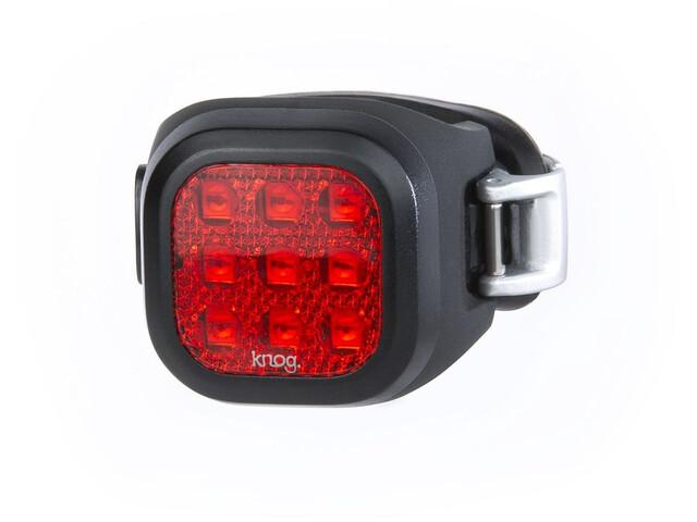 Knog Blinder Mini Niner Faretto posteriore a LED, red/black